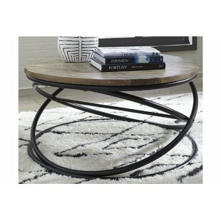 Barnett Coffee Table by Williston Forge Best