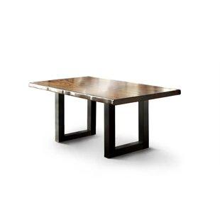 Sadler 3 Piece Solid Wood Dining Set by Loon Peak