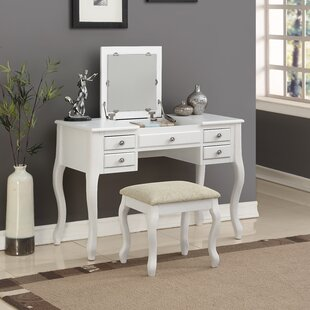 White Vanity Tables Youu0027ll Love