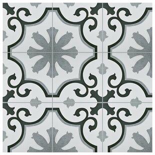 Nouvelle 12 38 X Ceramic Field Tile In Gray White