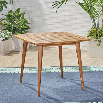 Adoxa Solid Wood Dining Table by Union Rustic Bargain