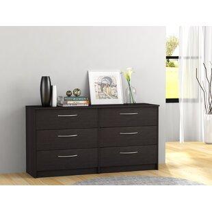 Zipcode Design Karis 6 Drawer Double Dresser
