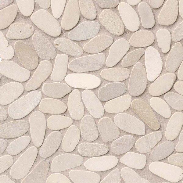 Msi Sliced Earth Random Sized Marble Pebbles Rocks Tile In Beige Wayfair