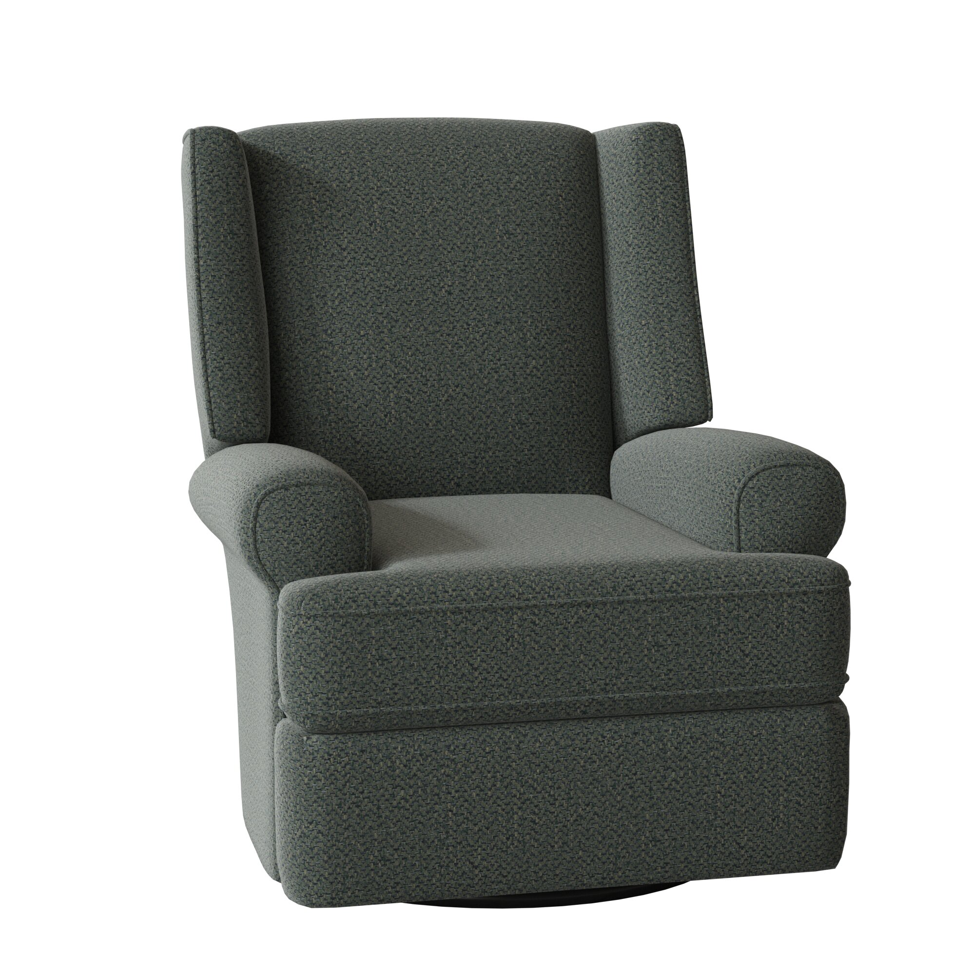Keya Wingback Manual Swivel Glider Recliner