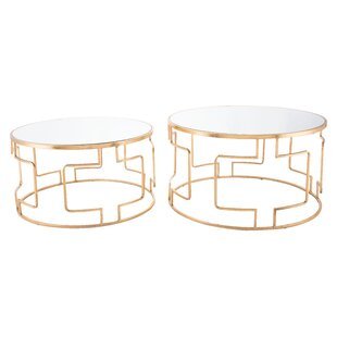 Yaning 2 Piece Nesting Tables by Everly Q..