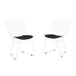 Ebern Designs Hively Patio Dining Chair with Cushion (Set of 2)