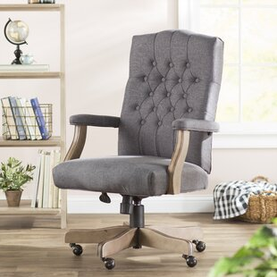 Three Posts Wurthing High-Back Executive Chair