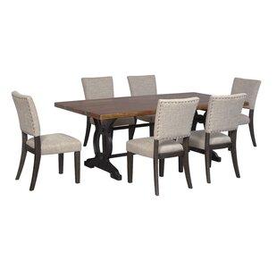 Teesha Solid Wood Dining Table Gracie Oaks
