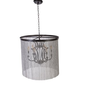 dCOR design Ellard 6-Light Shaded Chandel..