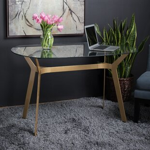 Archtech Modern Glass Writing Desk