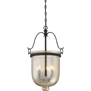 One Allium Way Gervais 3-Light Urn Pendant