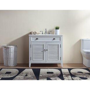 Gertrud 36 Single Bathroom Vanity Set