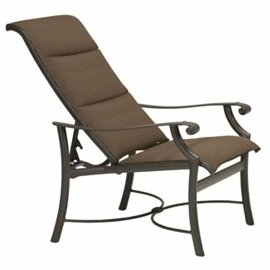 Tropitone Montreux Padded Sling Recliner ..