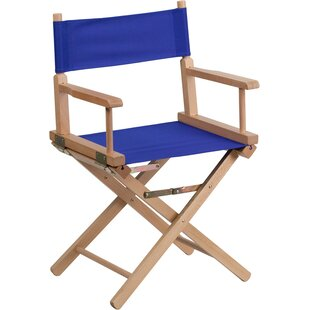 Three Posts Rome Folding Directors Chair