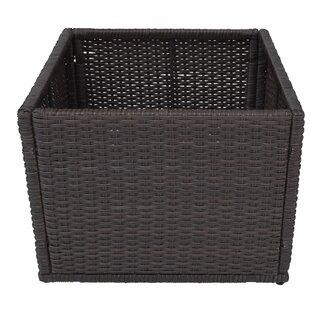 Canadian Spa Co Straight Rattan Planter Box