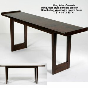 Ming Altar Console Table