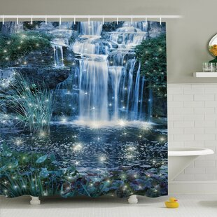 Waterfall Magic Fairy Cascade Shower Curtain Set