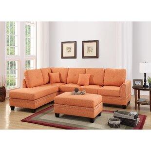 Orange Living Room Sets Youll Love Wayfair