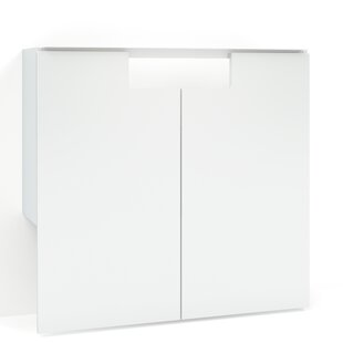 Dominik 80cm X 75cm Surface Mount Medicine Cabinet By Wade Logan