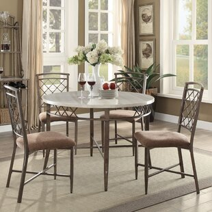 Bedfordshire 5 Piece Dining Set Charlton Home