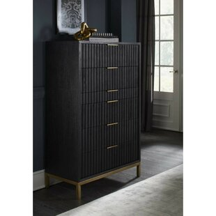 Arnoldsville Scalloped Front 6 Drawer Chest