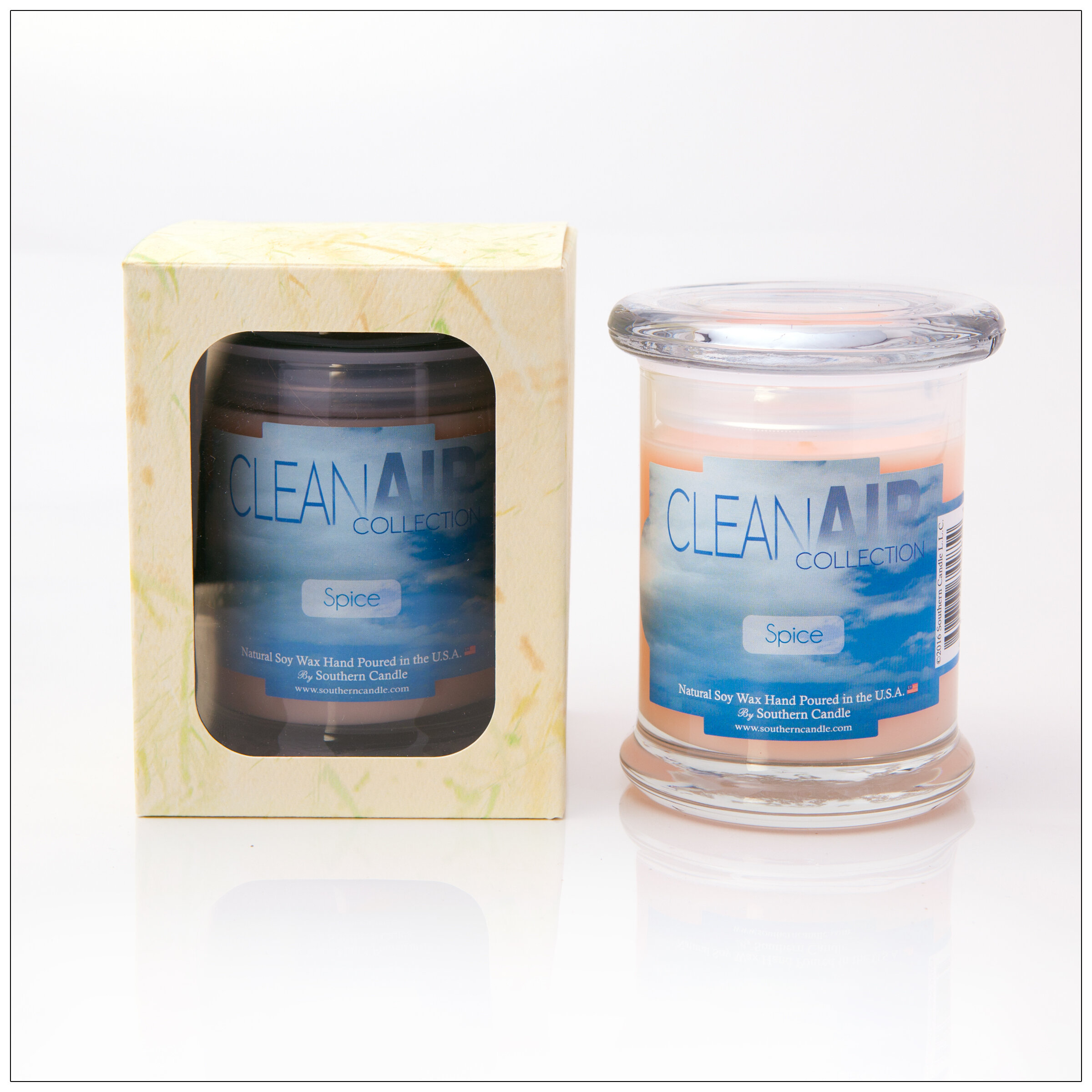 Southerncandleclassics Clean Air Spice Scented Jar Candle Wayfair
