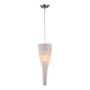 Bungalow Rose Nita 1-Light Novelty Pendant