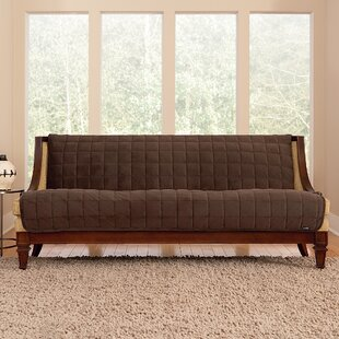 Sure Fit Deluxe Comfort Quilted Armless Box Cushion Sofa Slipcover