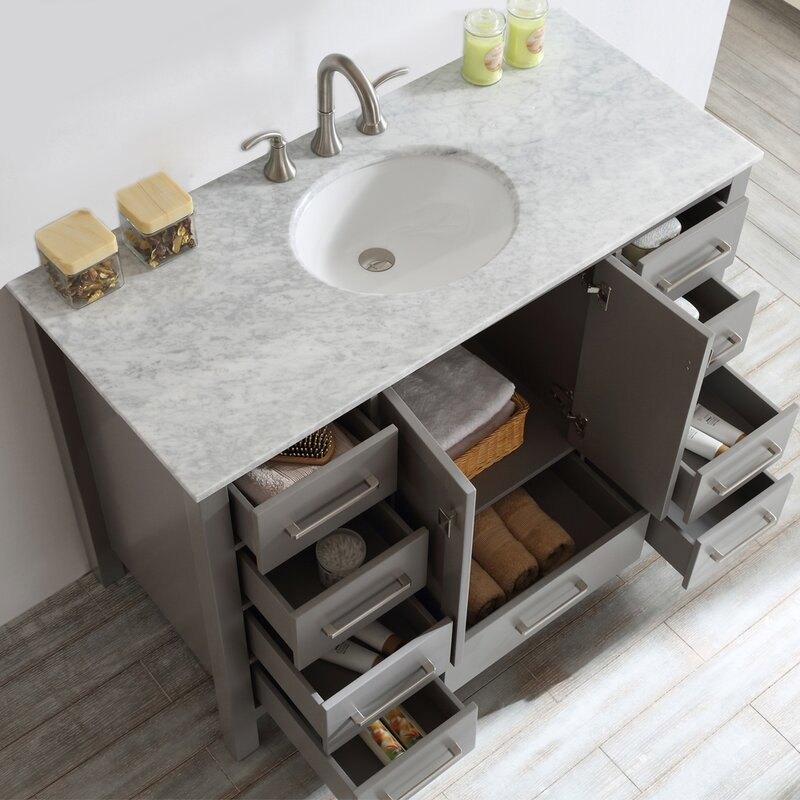 Newtown 48 Single Bathroom Vanity Set