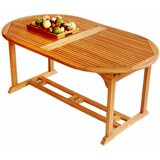 Georgio  Extendable Solid Wood Dining Table
