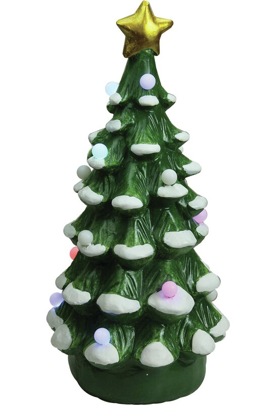 christmas morning led lighted christmas tree decorative christmas tabletop figure