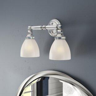 Silverton 2-Light Vanity Light By Three Posts Wall Lights