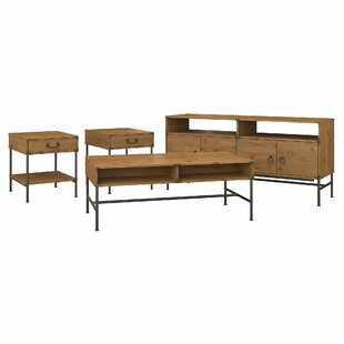 Compare prices Ironworks Entertainment Center for TVs up to 65 by Kathy Ireland Home by Bush Furniture Reviews (2019) & Buyer's Guide