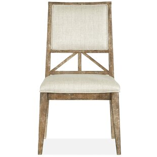 Gracie Oaks Obadiah Upholstered Dining Chair (Set of 4)