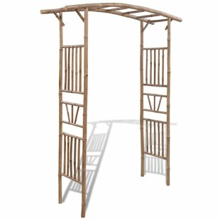 Rose Bamboo Arch By Symple Stuff
