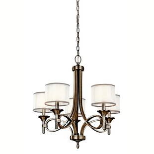 Boswell 5-Light Shaded Chandelier by Darby Home Co