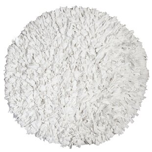 Best Reviews Calypso Jersey White Area Rug By IXI