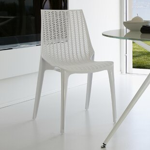 Lucrezia Rattan Style Arm Dining Chair by SCAB