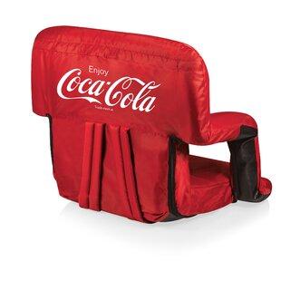 a Picnic Time Brand Portable Ventura Reclining Stadium Seat for Bleachers ONIVA
