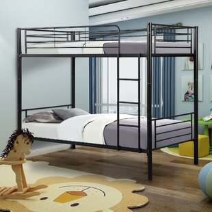 Canterbury Twin Over Twin Bunk Bed by Harriet Bee Reviews