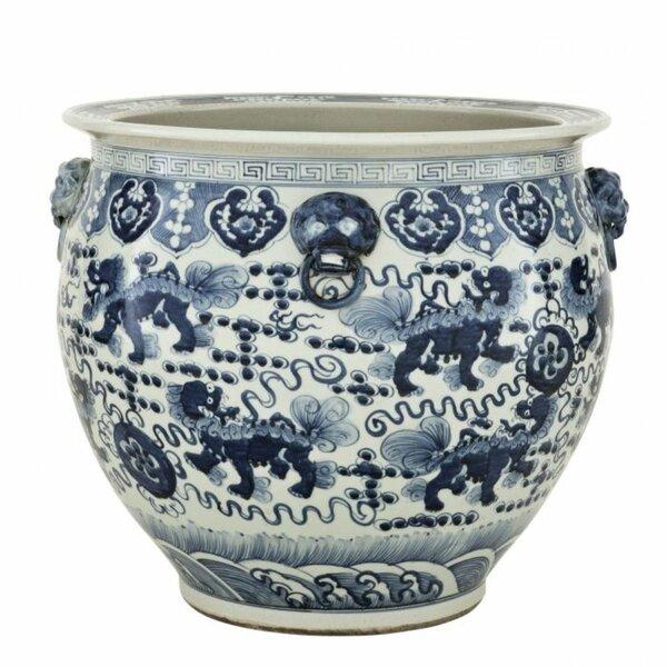 9.5 Mayrich Ceramic Cactus Vase