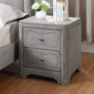 Best Quality Furniture 2 Drawer Nightstand