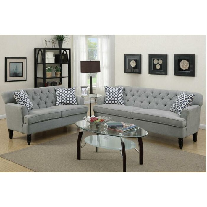 living room sofa and loveseat sets. Angel 2 Piece Living Room Set Sets You ll Love  Wayfair