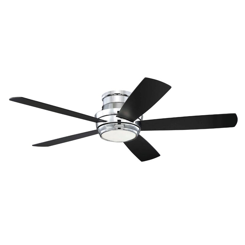 52 Quot Cedarton Hugger 5 Blade Ceiling Fan With Remote Amp Reviews Allmodern