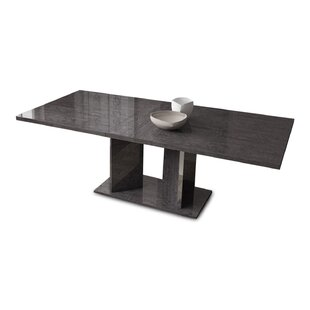 Turin Expandable Dining Table by Ivy Bronx Great price