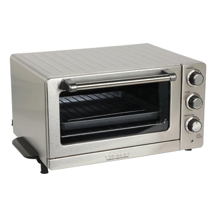 0 6 Cu  Ft  Toaster Oven Broiler with Convection