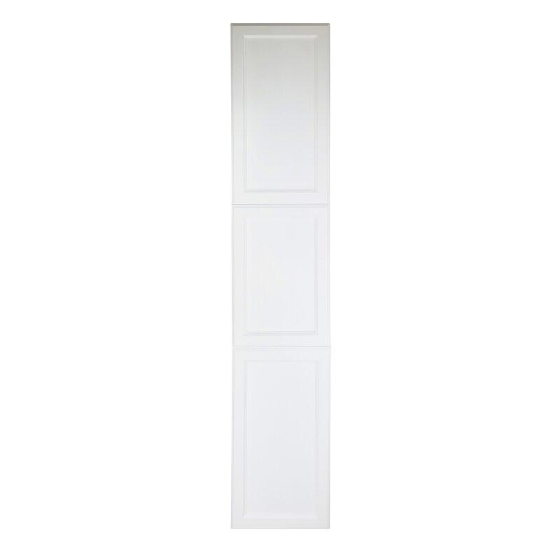 Frameless Kitchen Cabinet Woodworking Plans: WG Wood Products Deville 3-Door Frameless Bathroom Cabinet