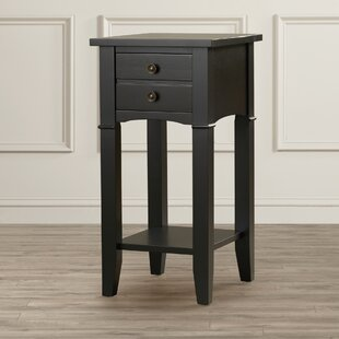 Edgington End Table With Storage