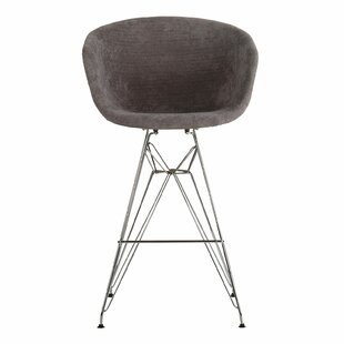 Buy clear Barrette 27.5 Bar Stool by George Oliver Reviews (2019) & Buyer's Guide