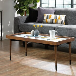 Searching for Posner Coffee Table with Tray Top ByMercury Row